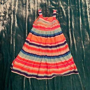 Gymboree colorful stripe dress • size 2T